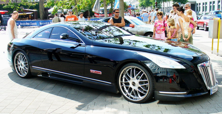 Most Expensive Car In The World   Maybach Exelero